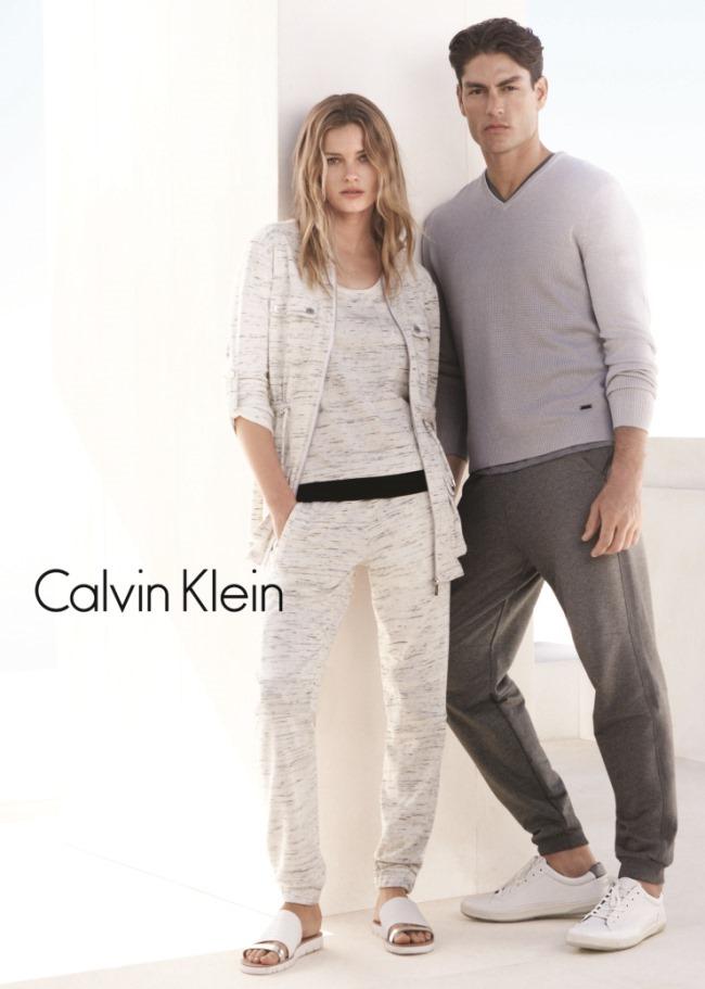 CAMPAIGN Edita Vilkeviciute & Tyson Ballou for Calvin Klein White Label Spring 2015 by Daniel Jackson. Tony Irvine, www.imageamplified.com, Image Amplified (9)