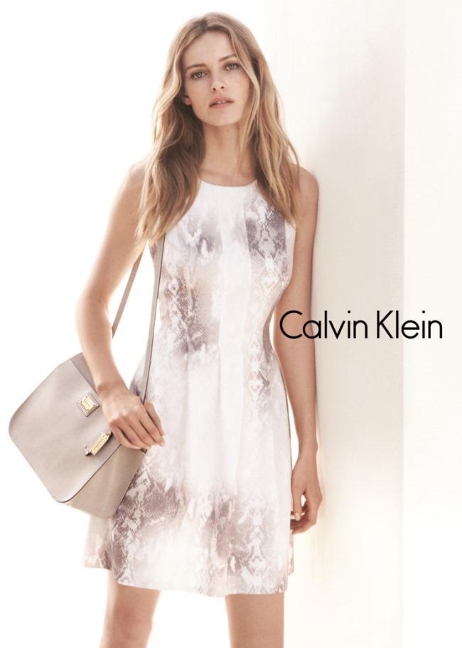 CAMPAIGN Edita Vilkeviciute & Tyson Ballou for Calvin Klein White Label Spring 2015 by Daniel Jackson. Tony Irvine, www.imageamplified.com, Image Amplified (3)