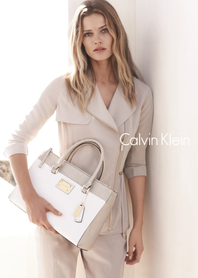 CAMPAIGN Edita Vilkeviciute & Tyson Ballou for Calvin Klein White Label Spring 2015 by Daniel Jackson. Tony Irvine, www.imageamplified.com, Image Amplified (4)