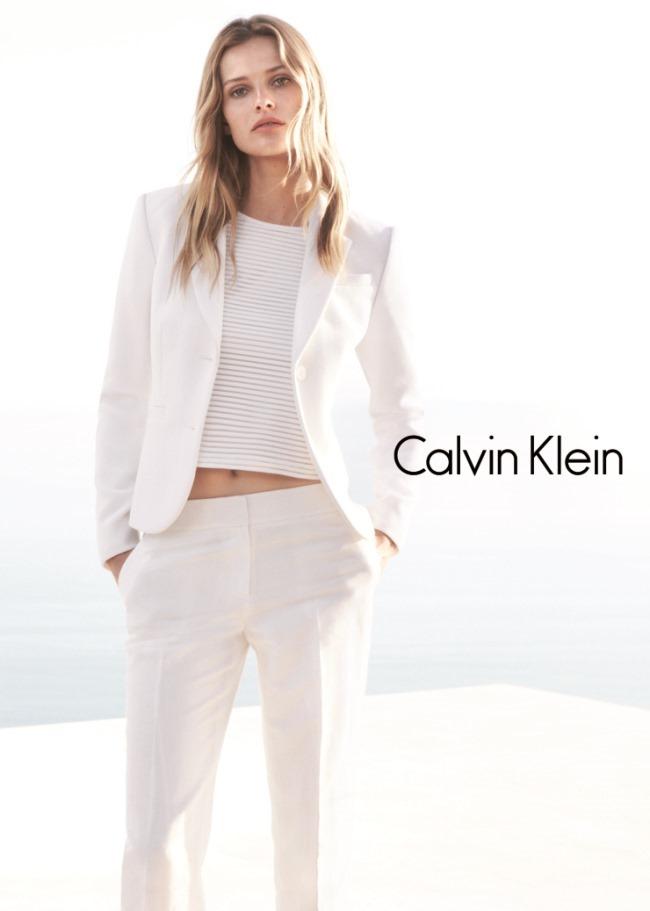 CAMPAIGN Edita Vilkeviciute & Tyson Ballou for Calvin Klein White Label Spring 2015 by Daniel Jackson. Tony Irvine, www.imageamplified.com, Image Amplified (8)