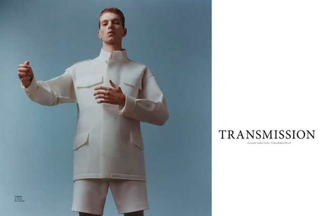 L'OFFICIEL HOMMES NETHERLANDS Transmission by Andrew Vowles. Raphael Hirsch, Spring 2015, www.imageamplified.com, Image Amplified (1)