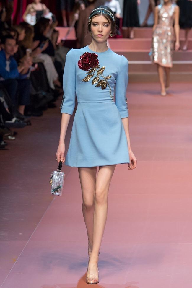 MILAN FASHION WEEK Dolce & Gabbana Fall 2015. www.imageamplified.com, Image Amplified (5)