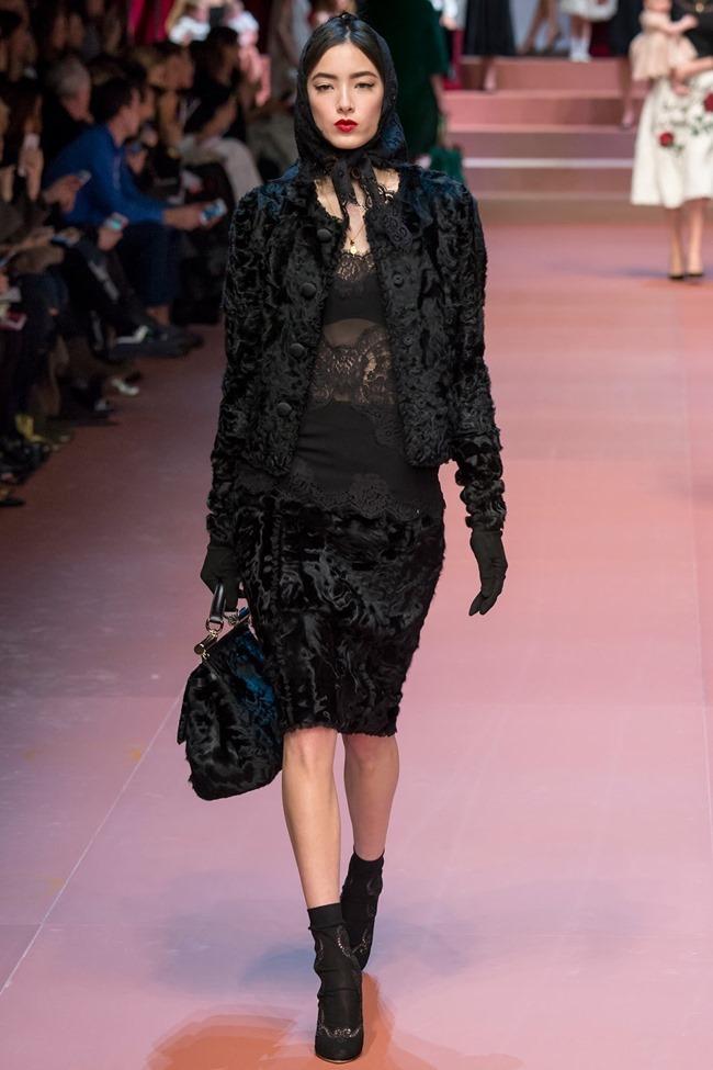 MILAN FASHION WEEK Dolce & Gabbana Fall 2015. www.imageamplified.com, Image Amplified (14)