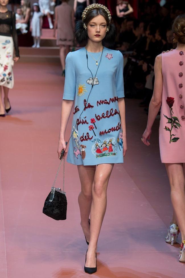 MILAN FASHION WEEK Dolce & Gabbana Fall 2015. www.imageamplified.com, Image Amplified (30)