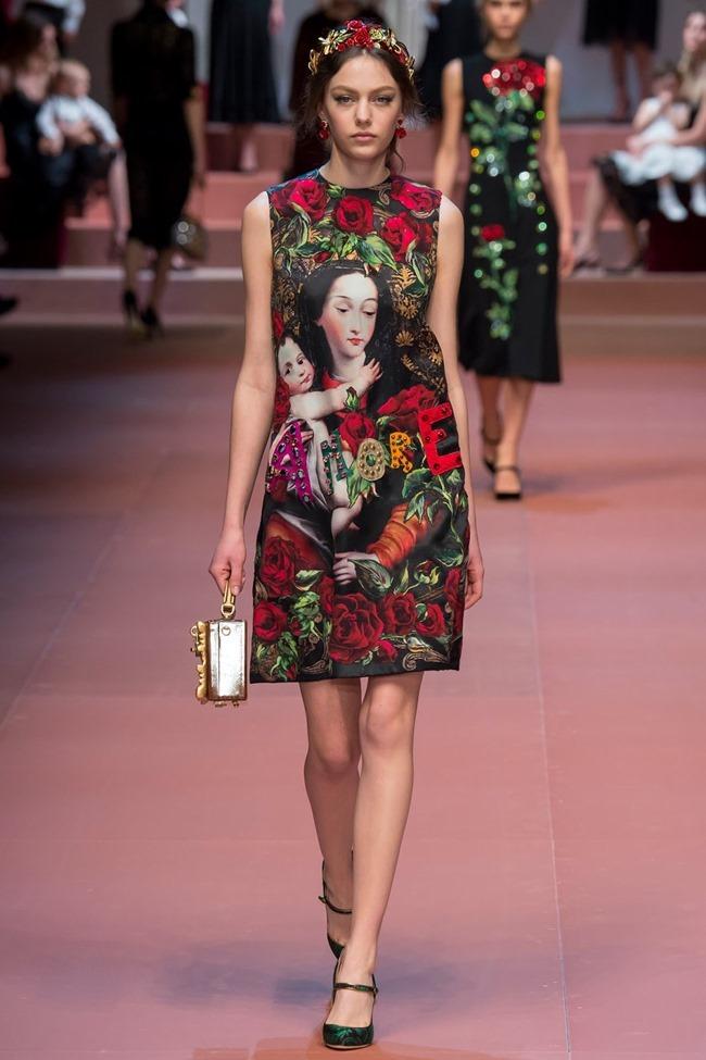 MILAN FASHION WEEK Dolce & Gabbana Fall 2015. www.imageamplified.com, Image Amplified (42)