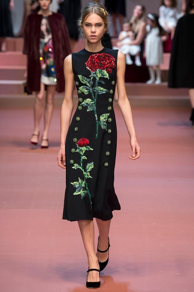 MILAN FASHION WEEK Dolce & Gabbana Fall 2015. www.imageamplified.com, Image Amplified (43)