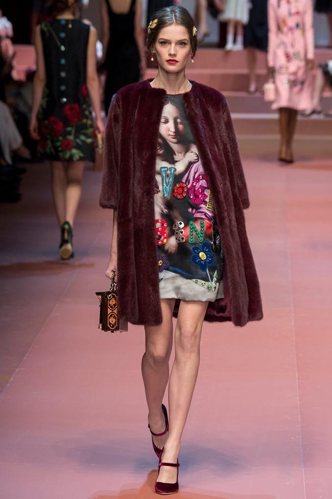 MILAN FASHION WEEK Dolce & Gabbana Fall 2015. www.imageamplified.com, Image Amplified (44)