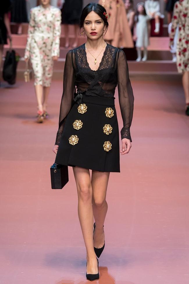 MILAN FASHION WEEK Dolce & Gabbana Fall 2015. www.imageamplified.com, Image Amplified (62)