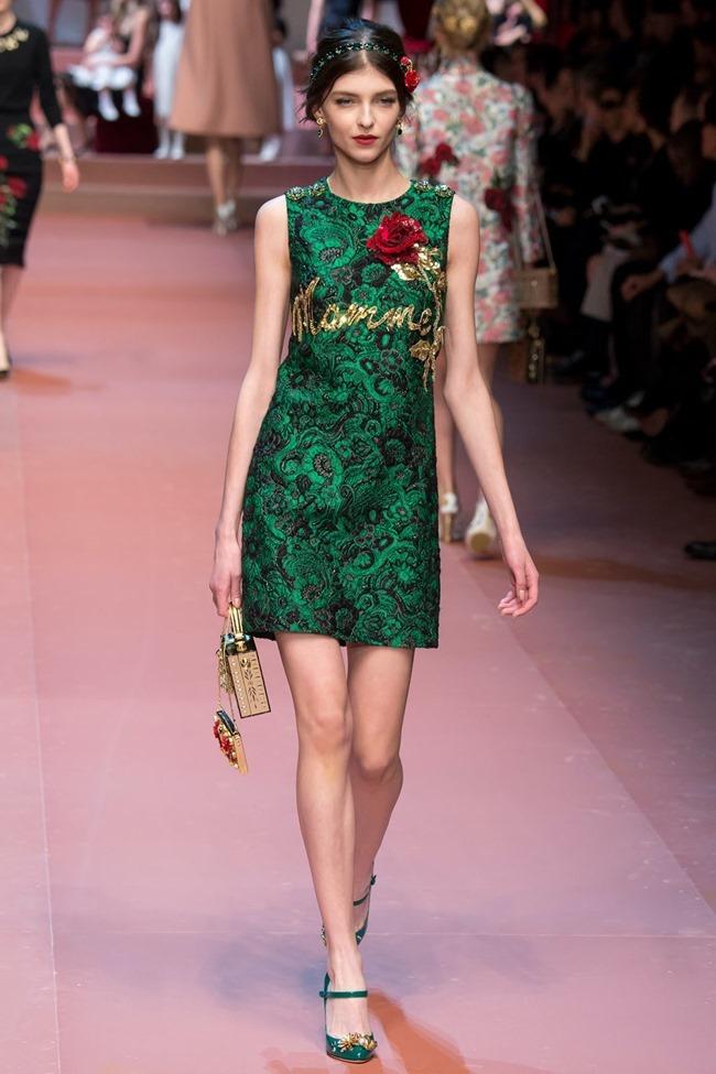 MILAN FASHION WEEK Dolce & Gabbana Fall 2015. www.imageamplified.com, Image Amplified (67)