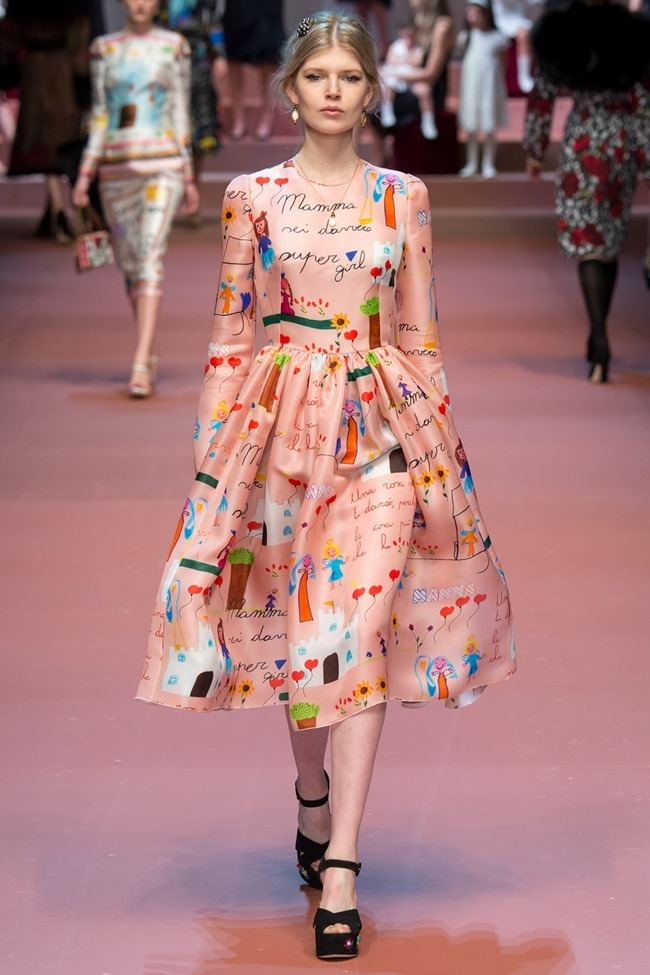 MILAN FASHION WEEK Dolce & Gabbana Fall 2015. www.imageamplified.com, Image Amplified (80)