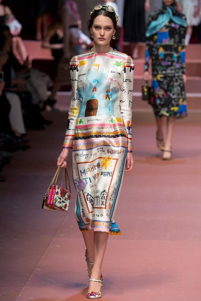 MILAN FASHION WEEK Dolce & Gabbana Fall 2015. www.imageamplified.com, Image Amplified (81)