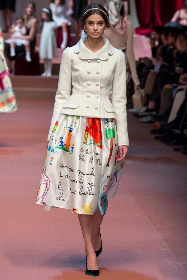 MILAN FASHION WEEK Dolce & Gabbana Fall 2015. www.imageamplified.com, Image Amplified (86)
