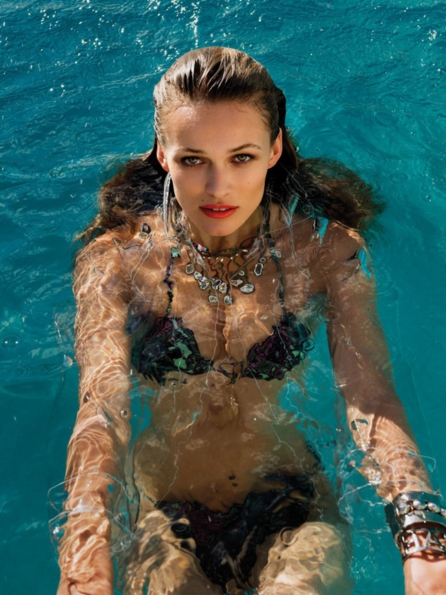 VOGUE MEXICO Edita Vilkeviciute & Brian Shimansky by Gilles Bensimon. Sarah Gore Reeves, March 2015, www.imageamplified.com, Image Amplified (9)