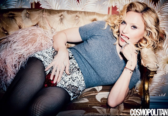 PREVIEW Madonna for Cosmopolitan Magazine, May 2015 by Ellen von Unwerth. Spring 2015, www.imageamplified.com, Image Amplified (2)