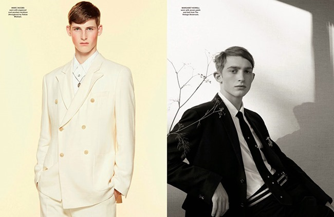 ANOTHER MAN MAGAZINE 2015 Collections by Benjamin Alexander Huseby. Ellie Grace Cumming, Spring 2015, www.imageamplified.com, Image Amplified (2)