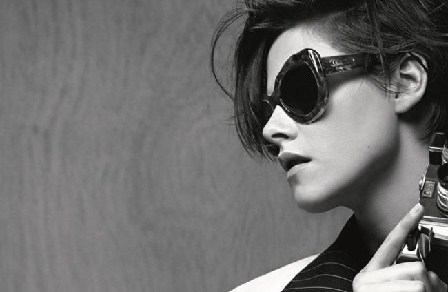 CAMPAIGN Kristen Stewart for Chanel Eyewear Spring 2015 by Karl Lagerfeld. www.imageamplified.com, Image Amplified (1)