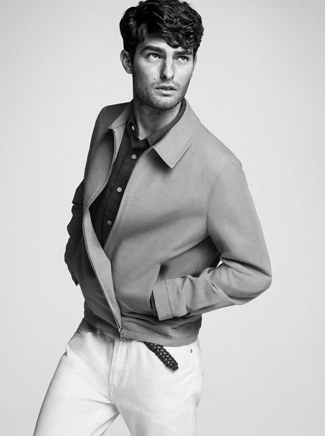 CAMPAIGN Paolo Anchisi for Club Monaco Spring 2015 by Inez & Vinoodh. www.imageamplified.com, Image Amplified (4)