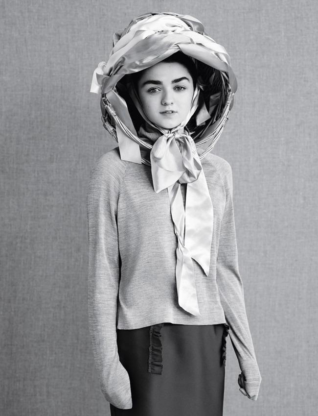 DAZED MAGAZINE Maisie Williams by Ben Toms. Robbie Spencer, Spring 2015, www.imageamplified.com, Image Amplified (8)