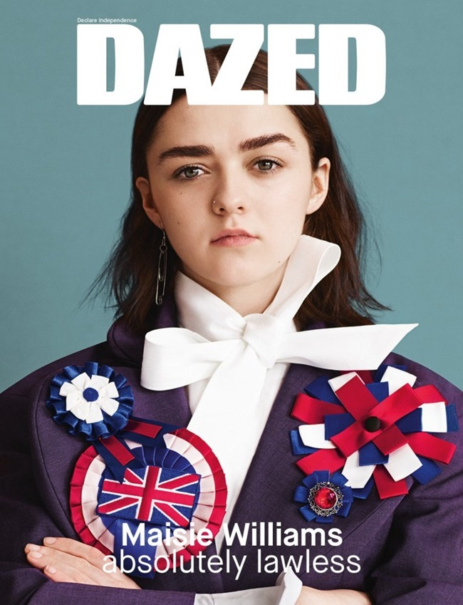 DAZED MAGAZINE Maisie Williams by Ben Toms. Robbie Spencer, Spring 2015, www.imageamplified.com, Image Amplified (10)