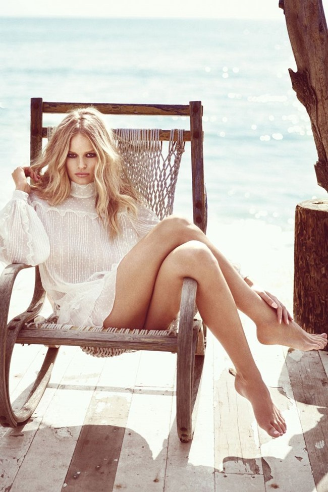 HARPER'S BAZAAR Anna Ewers by Norman  Jean Roy. George Cortina, May 2015, www.imageamplified.com, Image Amplified (4)