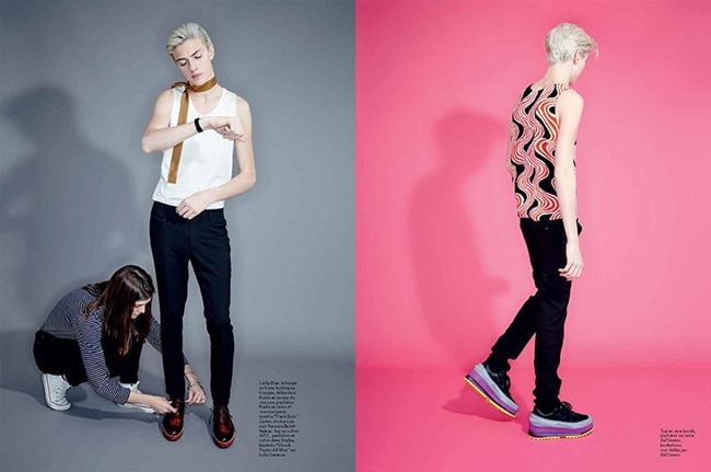 L'OFFICIEL HOMMES Lucky Blue Smith by Andrew hail. Helena Tejedor, Spring 2015, www.imageamplified.com, Image Amplified (5)