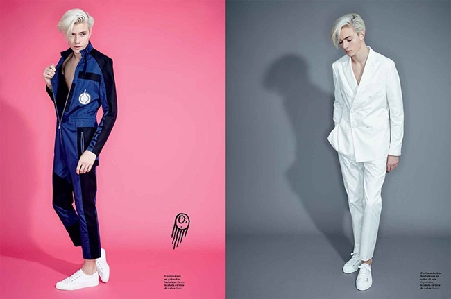 L'OFFICIEL HOMMES Lucky Blue Smith by Andrew hail. Helena Tejedor, Spring 2015, www.imageamplified.com, Image Amplified (8)