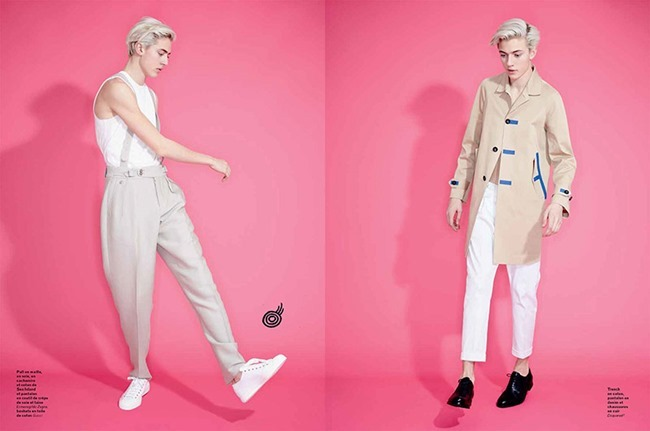 L'OFFICIEL HOMMES Lucky Blue Smith by Andrew hail. Helena Tejedor, Spring 2015, www.imageamplified.com, Image Amplified (10)