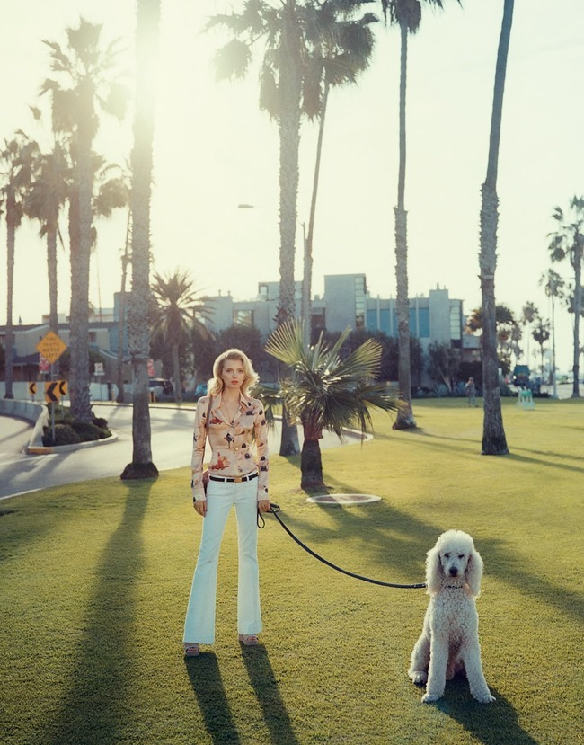 PORTER MAGAZNE Lily Donaldson by Tom Craig. Cathy Kasterine, Summer 2015, www.imageamplified.com, Image Amplified (5)