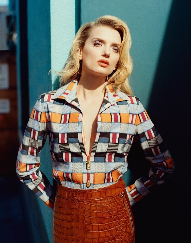 PORTER MAGAZNE Lily Donaldson by Tom Craig. Cathy Kasterine, Summer 2015, www.imageamplified.com, Image Amplified (1)
