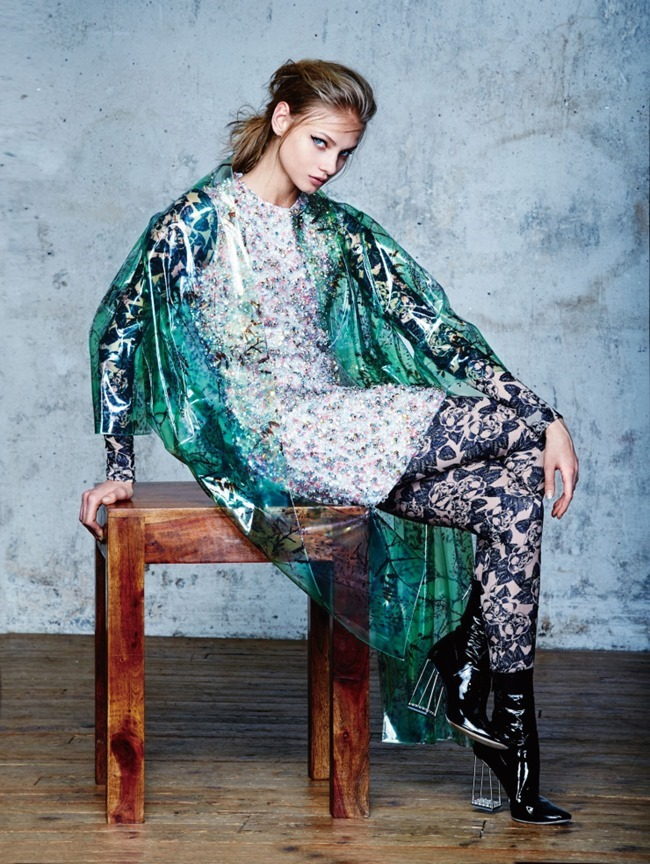 VOGUE CHINA COLLECTIONS Anna Selezneva by David Bellemere. Belen Casadevall, April 2015, www.imageamplified.com, Image Amplified (6)