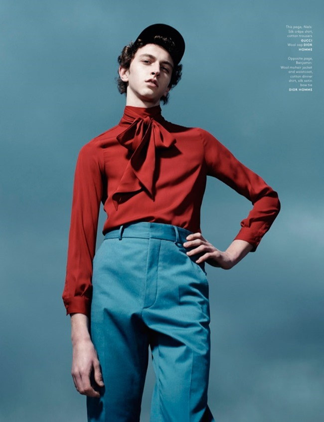 VOGUE HOMMES MAGAZINE Collections by Willy Vanderperre. Olivier Rizzo, Spring 2015, www.imageamplified.com, Image Amplified (6)
