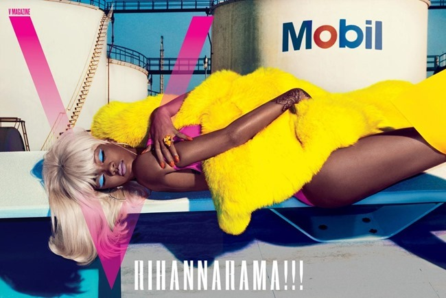 V MAGAZINE Rihanna by Steven Klein. Carlyne Cerf de Dudzeele, Summer 2015, www.imageamplified.com, Image Amplified (1)