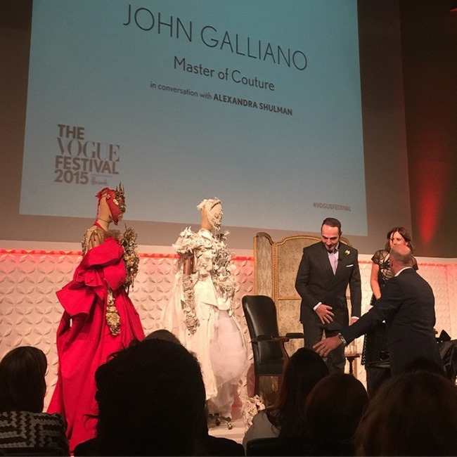 EVENT COVERAGE John Galliano Master of Couture at the Vogue Festival 2015 by Troy Wise & Rick Guzman. Spring 2015, www.imageamplified.com, Image Amplified (3)