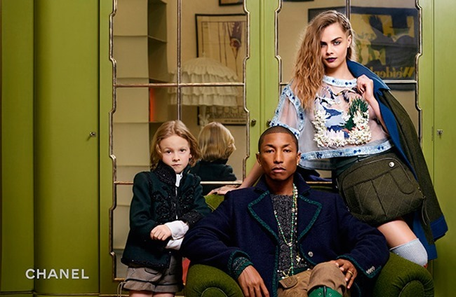 CAMPAIGN Cara Delevigne, Cara Delevigne & Hudson Kroenig for Chanel2015 Paris-Salzburg by Karl Lagerfeld. www.imageamplified.com, Image Amplified (4)