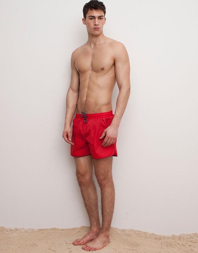 LOOKBOOK Alessio Pozzi for Pull & Bear Spring 2015 Beachwear. www.imageamplified.com, Image Amplified (14)