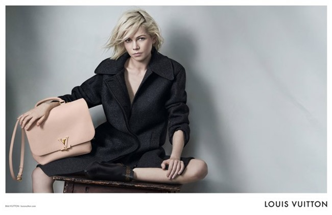 CAMPAIGN Michelle Williams for Louis Vuitton by Peter Lindbergh. Spring 2015, www.imageamplified.com, Image Amplified (4)