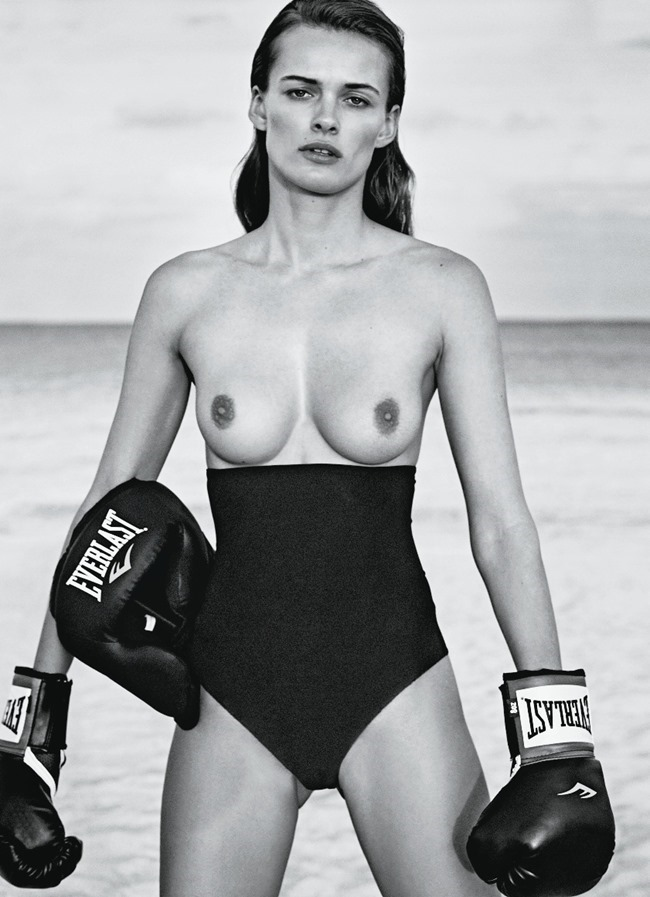FLAIR MAGAZINE Edita Vilkeviciute by Collier Schorr. Sissy Vian, May 2015, www.imageamplified.com, Image Amplified (9)
