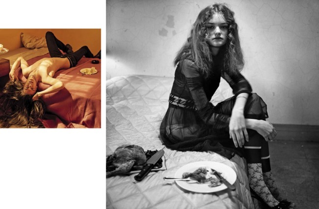 VOGUE ITALIA Food for Thought by Steven Meisel. Karl Templer, May 2015, www.imageamplified.com, Image Amplified (7)