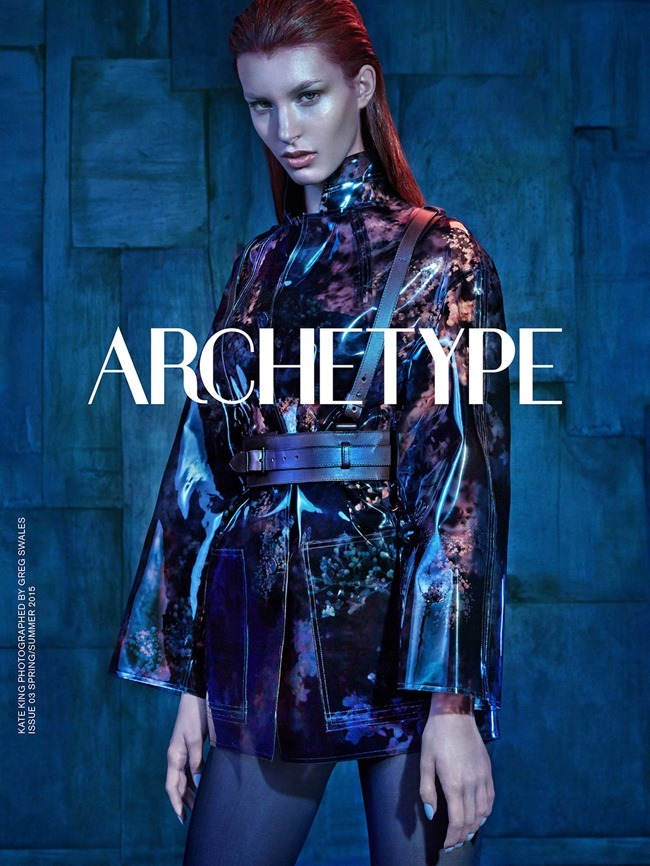 ARCHETYPE MAGAZINE Kate King by Greg Swales. Shan Temuri, April 2015, www.imageamplified.com, Image Amplified (1)