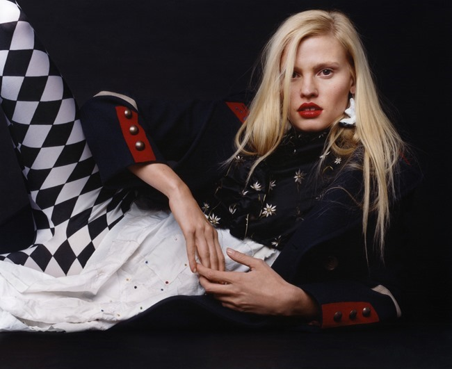 V MAGAZINE Lara Stone by Harley Weir. Max Pearmain, Summer 2015, www.imageamplified.com, Image Amplified (11)