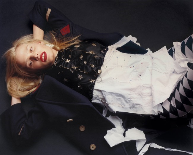 V MAGAZINE Lara Stone by Harley Weir. Max Pearmain, Summer 2015, www.imageamplified.com, Image Amplified (9)