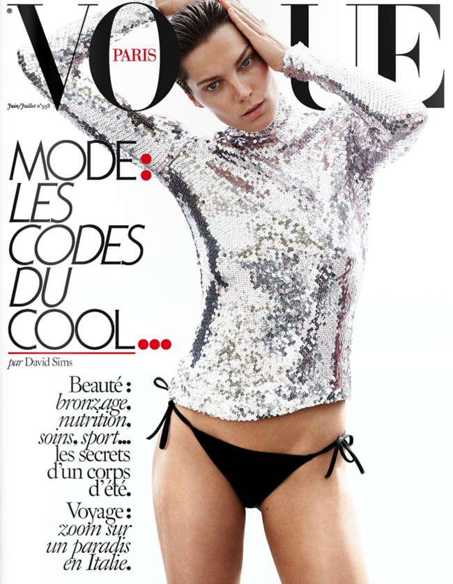 VOGUE PARIS Daria Werbowy by David Sims. Emmanuelle Alt, July 2015, www.imageamplified.com, Image Amplified (1)