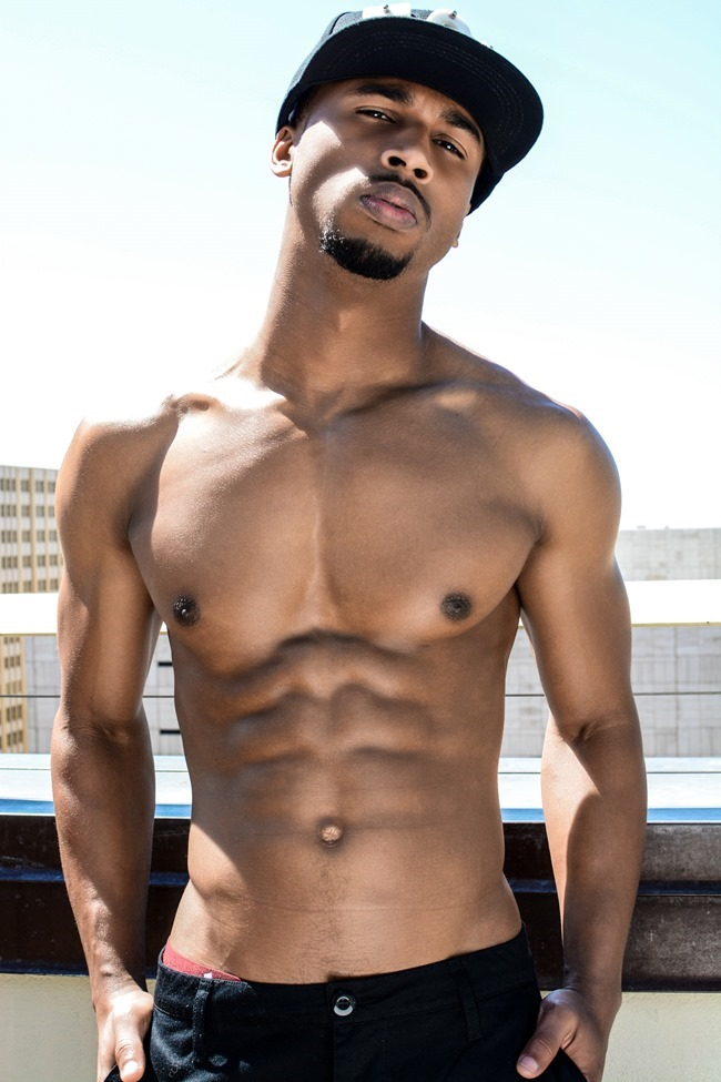 IMAGE AMPLIFIED EXCLUSIVE Ant Barnes in New Huntley Homme Collection 2015 by Calvin Brockington. Summer 2015, www.imageamplified.com, Image Amplified (16)