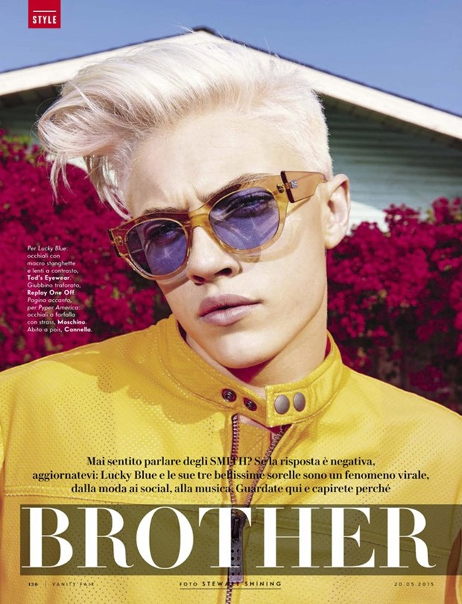 VANITY FAIR ITALIA Brother & Sisters by Stewart Shining. Selin Bursalioglu, Spring 2015, www.imageamplified.com, Image Amplified (1)