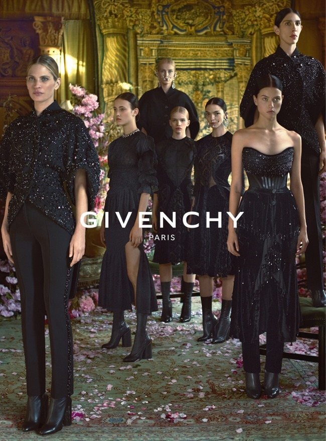 CAMPAIGN Givenchy Fall 2015 by Mert & Marcus. CArine Roitfeld, www.imageamplified.com, Image Amplified (2)