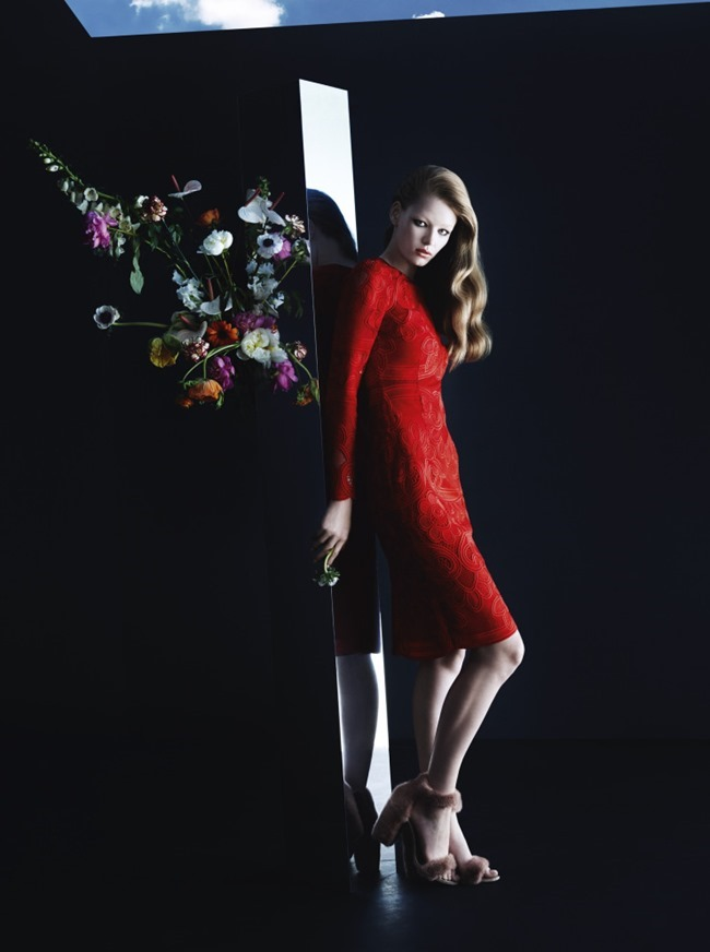 CAMPAIGN Hollie May Saker for Blumarine Fall 2015 by Camilla Akrans. Franck Benhamou, www.imageamplified.com, Image Amplified (3)