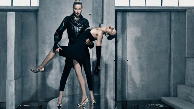 CAMPAIGN Kate Moss & Lara Stone for Balenciaga Fall 2015 by Steven Klein. Panos Yiapanis, www.imageamplified.com, Image Amplified (1)