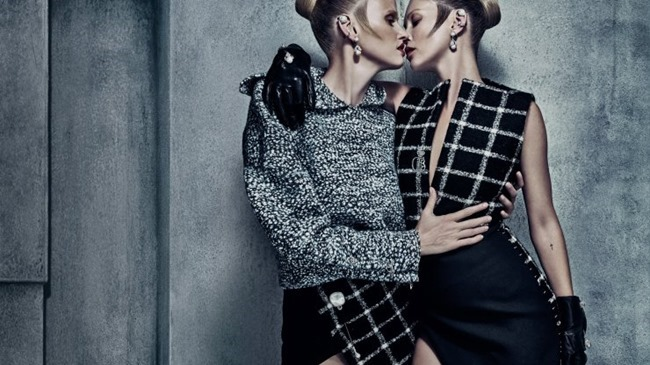 CAMPAIGN Kate Moss & Lara Stone for Balenciaga Fall 2015 by Steven Klein. Panos Yiapanis, www.imageamplified.com, Image Amplified (4)
