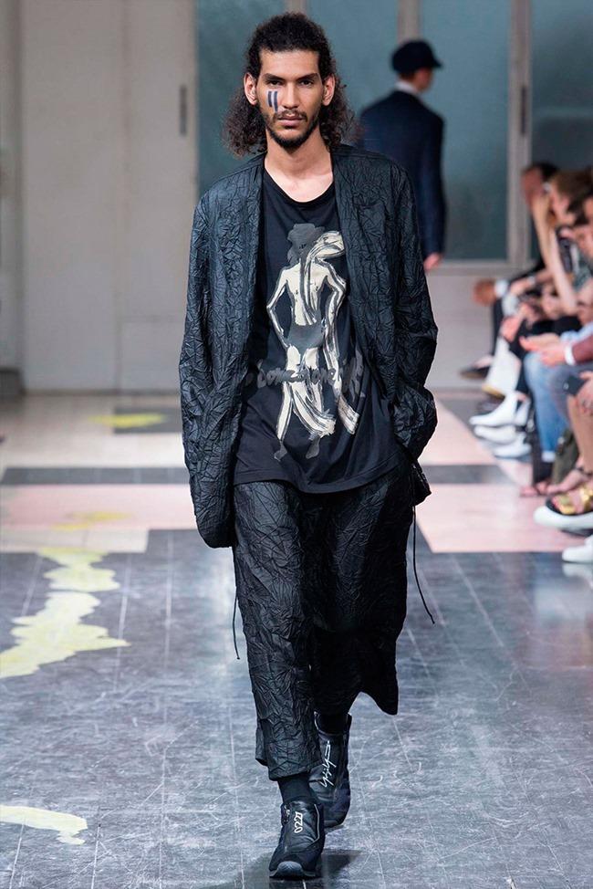 PARIS FASHION WEEK Yohji Yamamoto Spring 2016. www.imageamplified.com, Image Amplified (30)