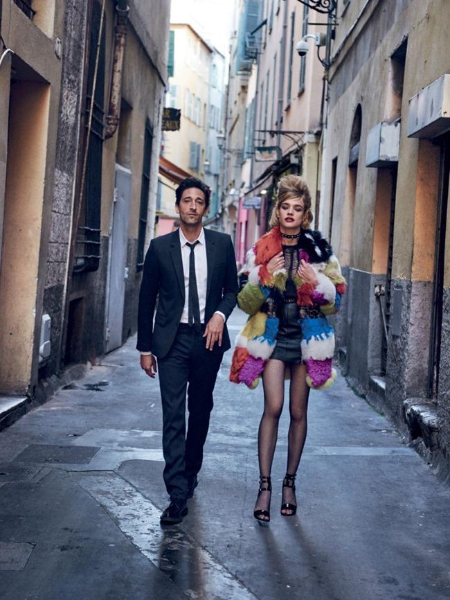 VOGUE MAGAZINE Natalia Vodianova & Adrien Brody by Peter Lindbergh. Grace Coddington, Michael Philouze, July 2015, www.imageamplified.com, Image Amplified (10)